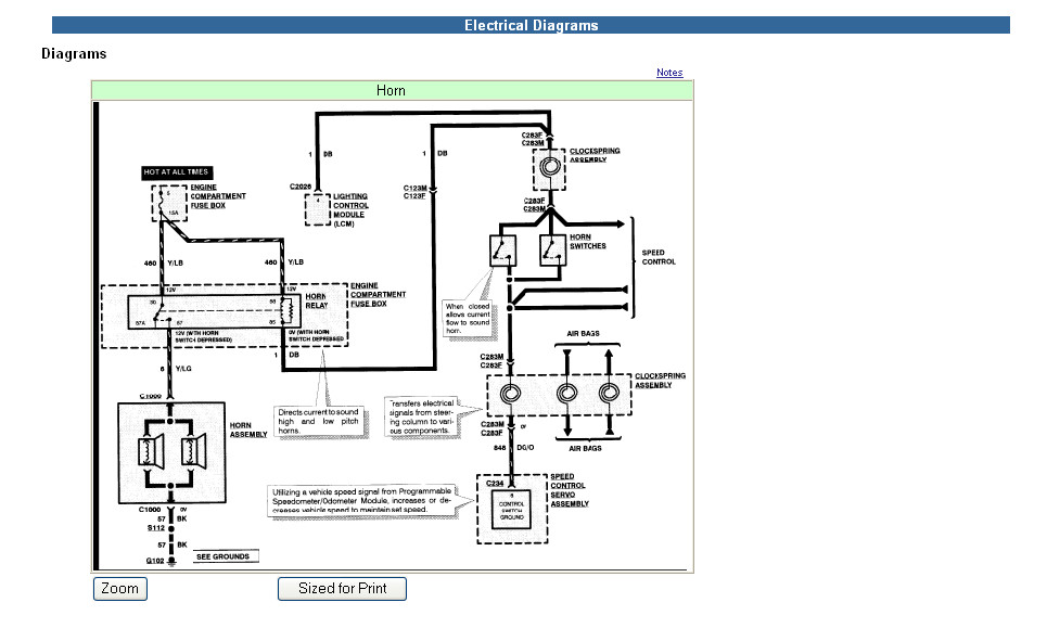 [GJFJ_338]  Horn Issue: 2005 Crown Victoria | Ford Forums | 2008 Crown Victoria Wiring Diagram |  | Ford Forums