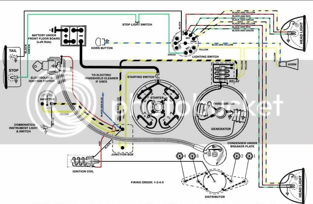 Model A Fire Truck Wiring Diagram