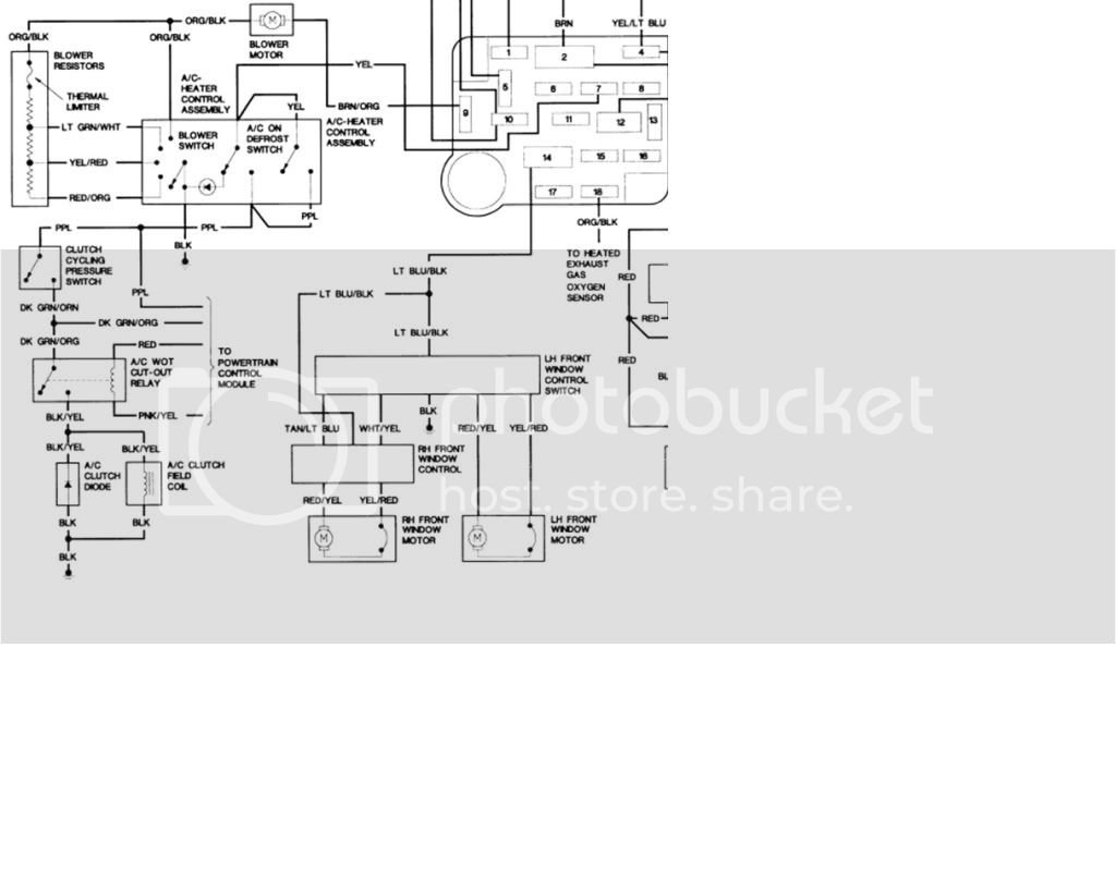 1994 Ford Ranger a/c problem | Ford Forums Ac Relay Wiring Diagram Photo Album Wire Images on