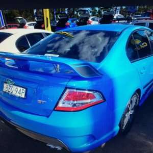 My current toy, 2011 FPV FG GT BOSS 335, 6sp man, in Nitro blue, just stunning to drive, so much power.